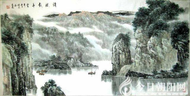 《今日朝阳网》独家推出《心行山水间》诗配画