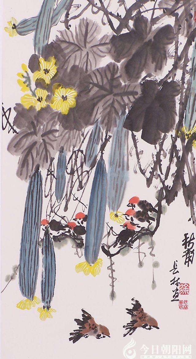 莲花和仙鹤的寓意