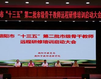 朝阳市教育局搭建学习平台 促骨干教师队伍成长(姜娜)