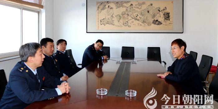 """龙8娱乐手机版市税务局再访人大代表姜淑秋,听听她说了什么?"""""""