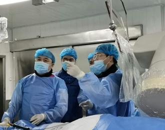 持续关注!市二院完成首例冠脉支架联合室上速射频消融术