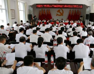 热烈祝贺!龙8娱乐手机版安平集团物业管理有限公司党委成立
