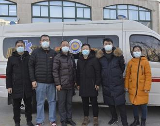 朝阳市中心医院支援大连检验医疗队再出征