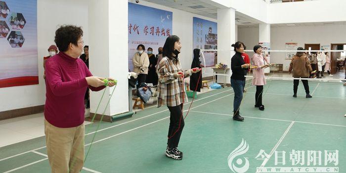 """点赞!朝阳工校开展庆祝""""三八""""妇女节趣味锻炼活动"""""""