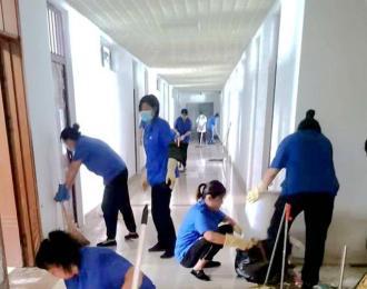 开学季,安平物业为师生撑起保护伞